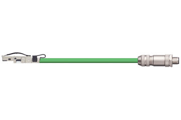 readycable® cable de bus compatible con iX67CA0E41.xxxx, cable base PUR 12,5 x d