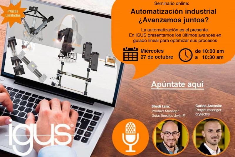 seminario online automatización