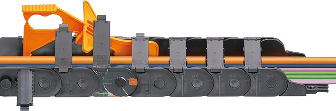 cadena portacables igus plásticos técnicos