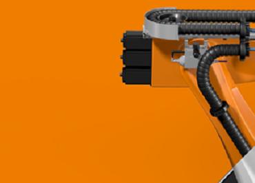 guiado de energía e hidráulica en robots