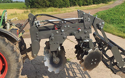 Application disc harrow