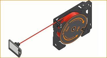 enrollador de cable e-espool flex 2.0