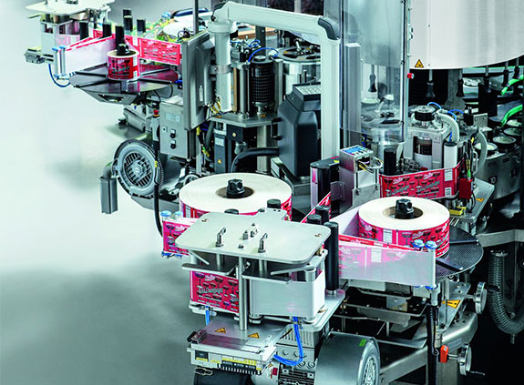 Ready-to-install components for labelling machines