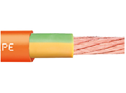 Very cost-effective earth cable for energy chains®